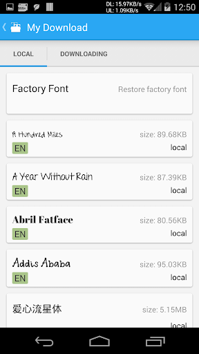 iFont(Expert of Fonts) for Android - Download   Cafe Bazaar