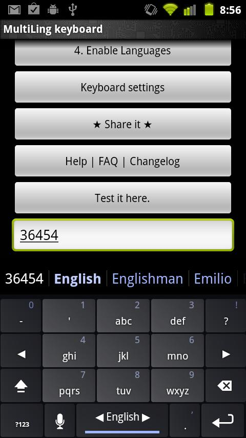 Multiling keyboard for Android - Download | Cafe Bazaar