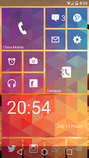 WP Launcher (Windows Phone Style)