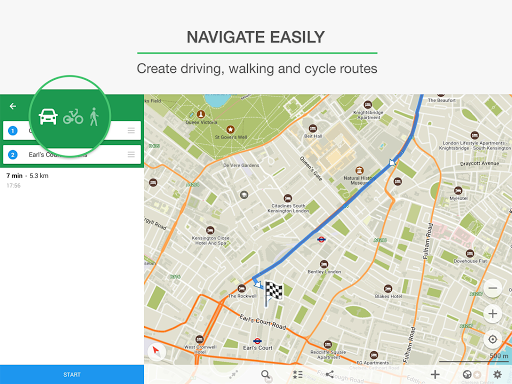 MAPS.ME – Map with Navigation and Directions