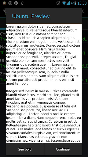 Font Changer (root) 4 0 4 for Android Screenshots