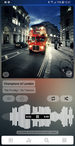 Poweramp Music Player (Trial) for Android - Download | Cafe