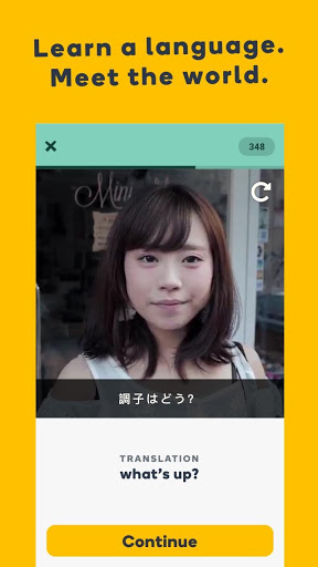 Memrise screenshot