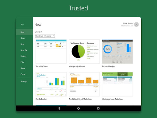 Microsoft Excel for Android - Download | Cafe Bazaar
