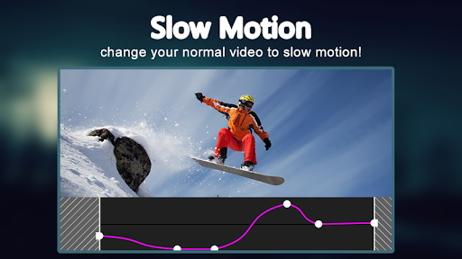 Slow motion video FX: fast & slow mo editor