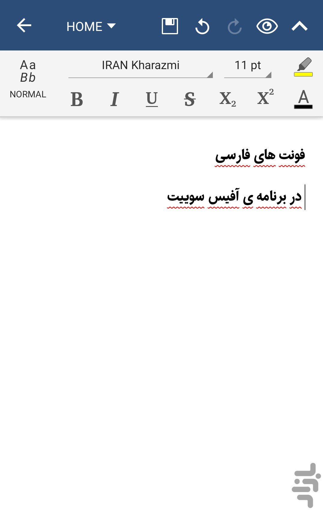 Download OfficeSuite Farsi Font Pack - Download | Install Android ...
