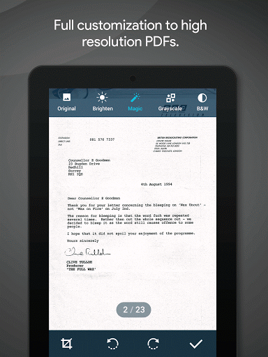 Quick PDF Scanner screenshot