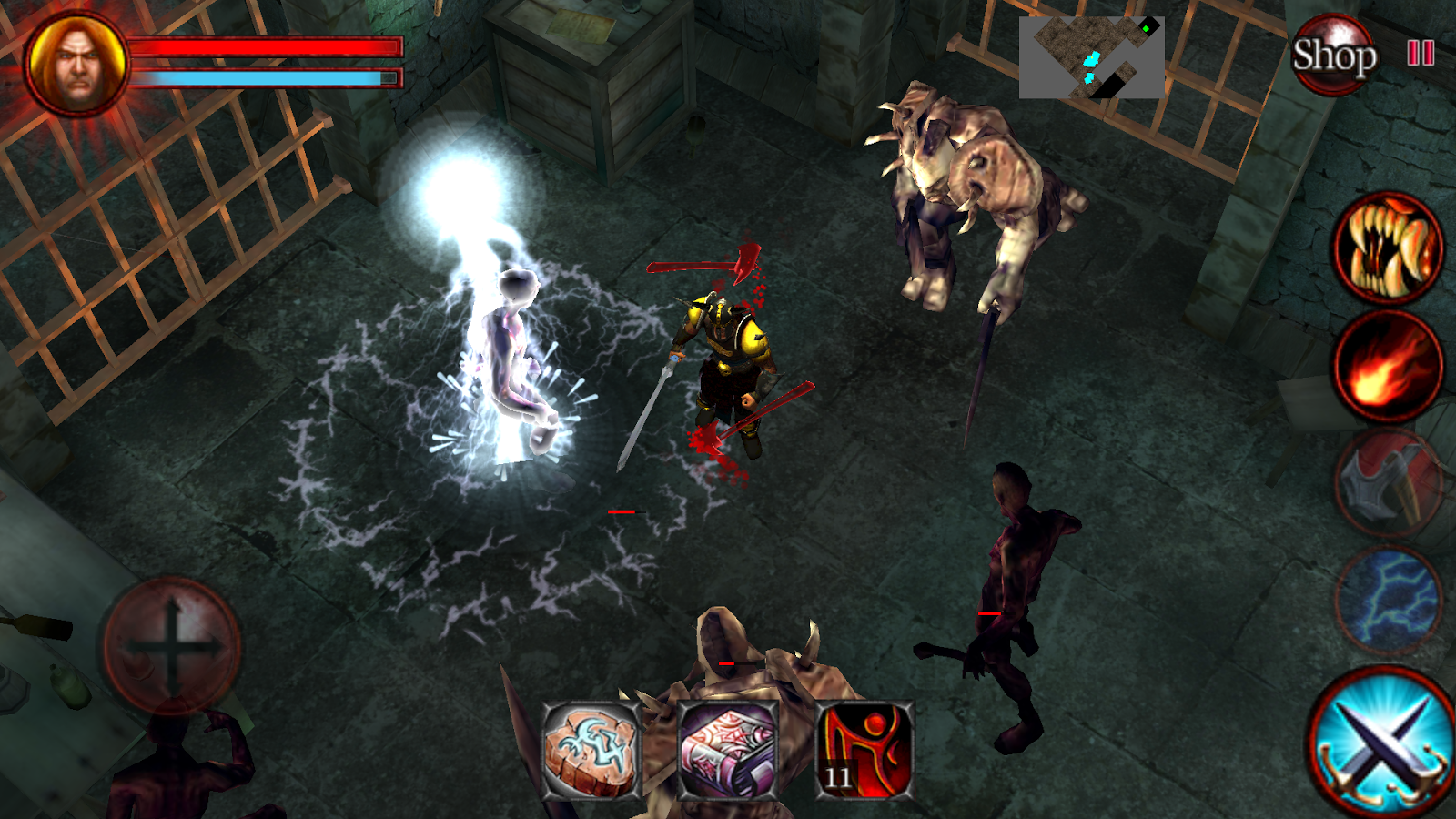 D Dungeons (Action RPG) Game for Android - Download | Cafe