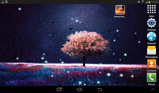 Awesome-Land Live wallpaper HD : Grow more trees