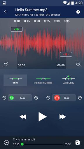 Music Player - MP3 Player – پخش موسیقی و MP3 - Image screenshot of android app