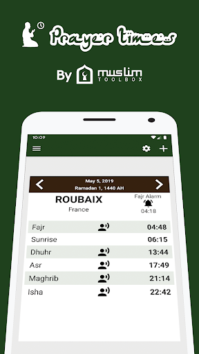 Prayer times: Qibla & Azan for Android - Download   Cafe Bazaar