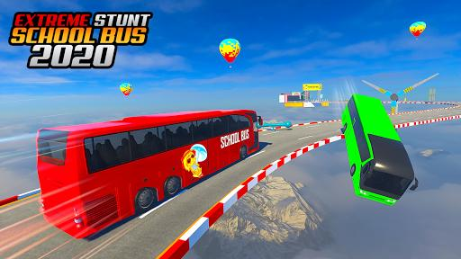 School Bus Stunt Driving: Mega Ramp Impossible Bus - عکس برنامه موبایلی اندروید