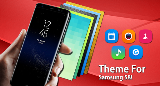 Theme For Samsung Galaxy S8 Launcher Hd Wallpaper For Android Download Cafe Bazaar