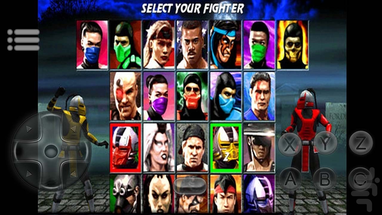 Ultimate Mortal Kombat 3 Game for Android - Download | Cafe Bazaar