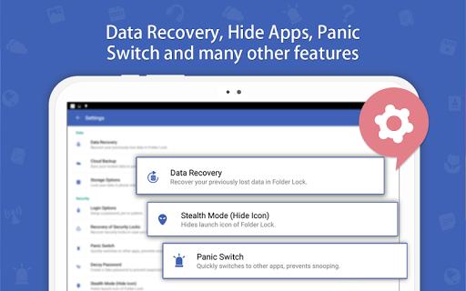 Folder Lock | Android Application | Cafe Bazaar