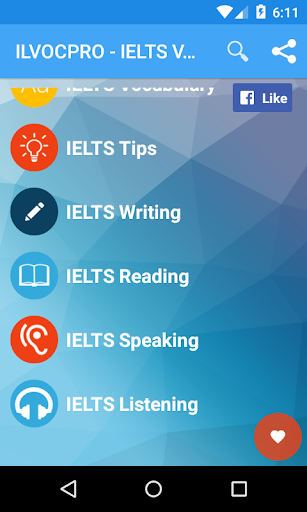 IELTS Vocabulary - ILVOC
