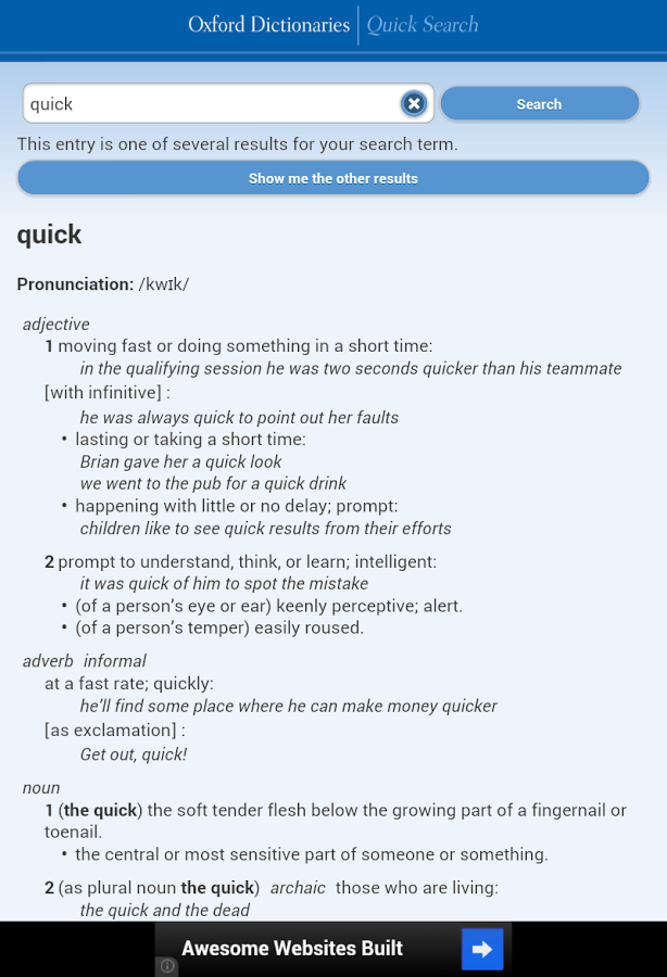 Quick Search for Android - Download | Cafe Bazaar