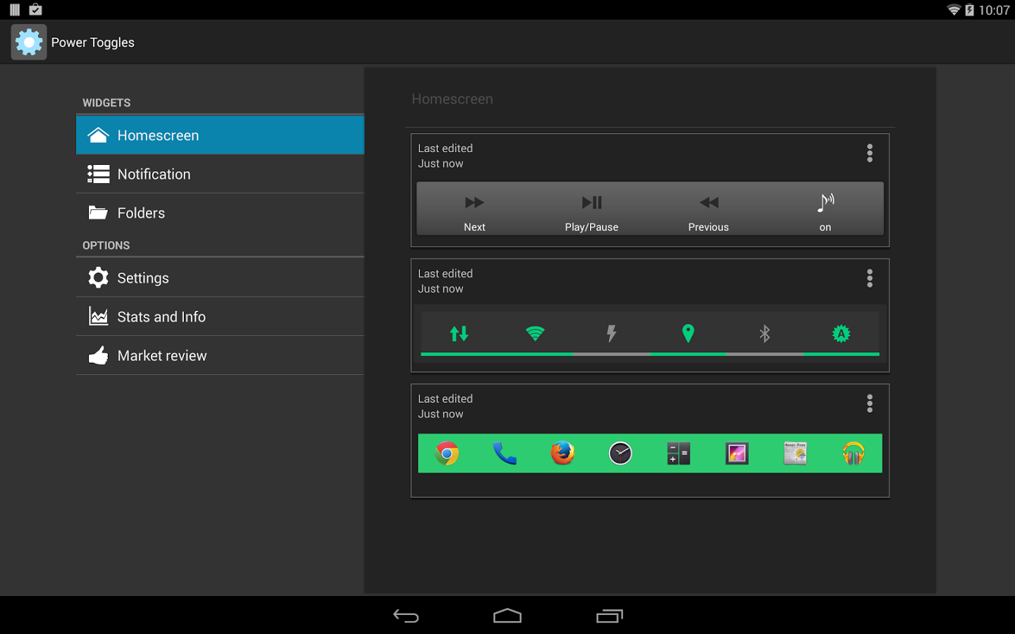 Power Toggles for Android - Download | Cafe Bazaar
