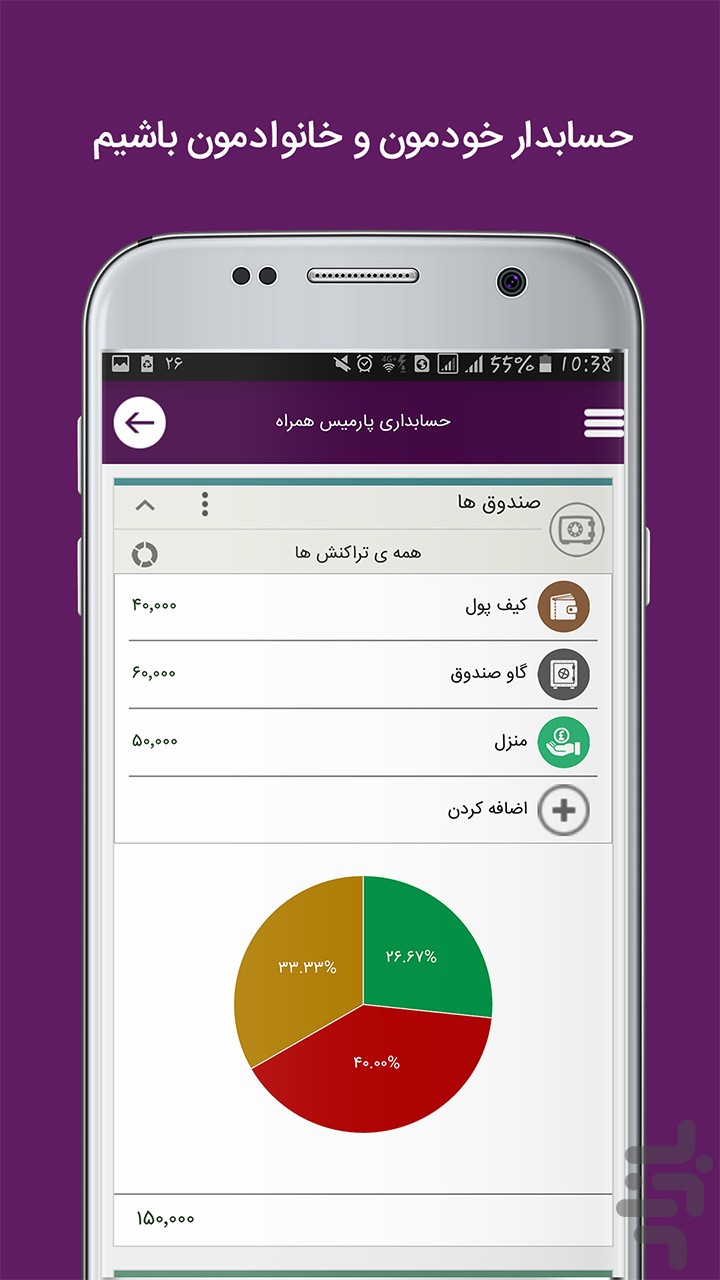 Parmis Mobile Accounting