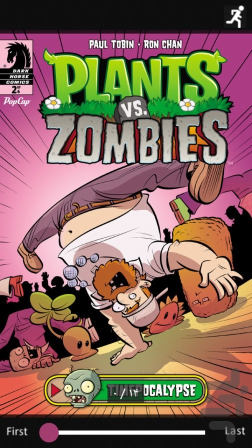 Comic PlantsVsZombies Time Part2