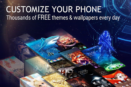 U Launcher 3D –Customization, Interface, Launching