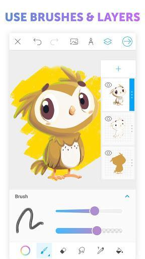PicsArt Color - Painting, Drawing & Sketch - Image screenshot of android app
