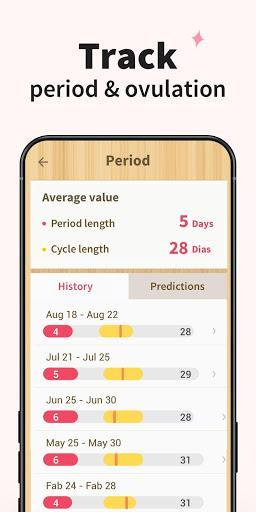 Period Tracker - Period Calendar Ovulation Tracker - Image screenshot of android app