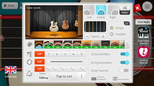 Guitar + for Android - Download | Cafe Bazaar