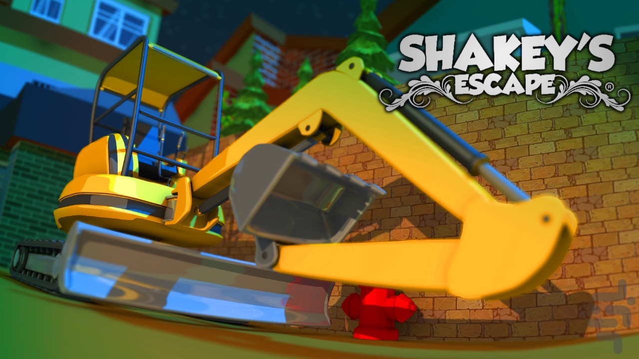 Shakey's Escape - Cat Platform