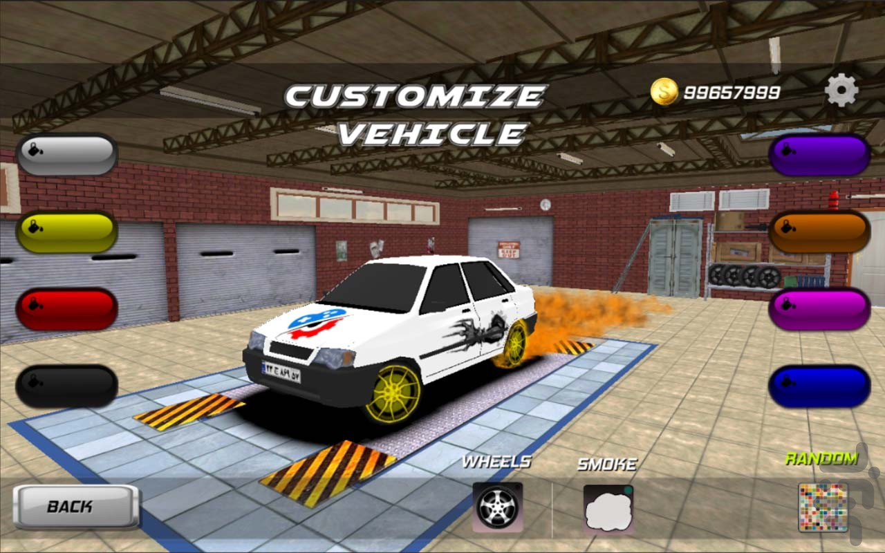 Crazy Drift Racer