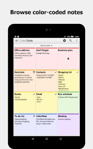ColorNote Notepad Notes for Android - Download | Cafe Bazaar