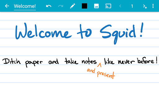 Squid - Take Notes & Markup PDFs