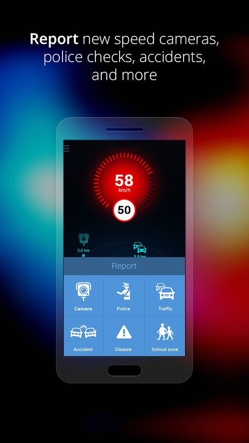 Speed Cameras by Sygic - Download | Install Android Apps | Cafe Bazaar