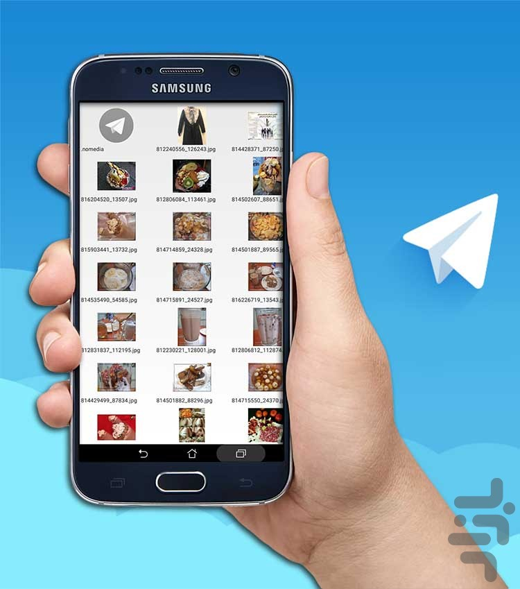 تلگرام  بازان آلبوم تلگرام