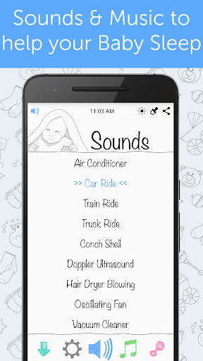 White Noise Baby - Download | Install Android Apps | Cafe Bazaar