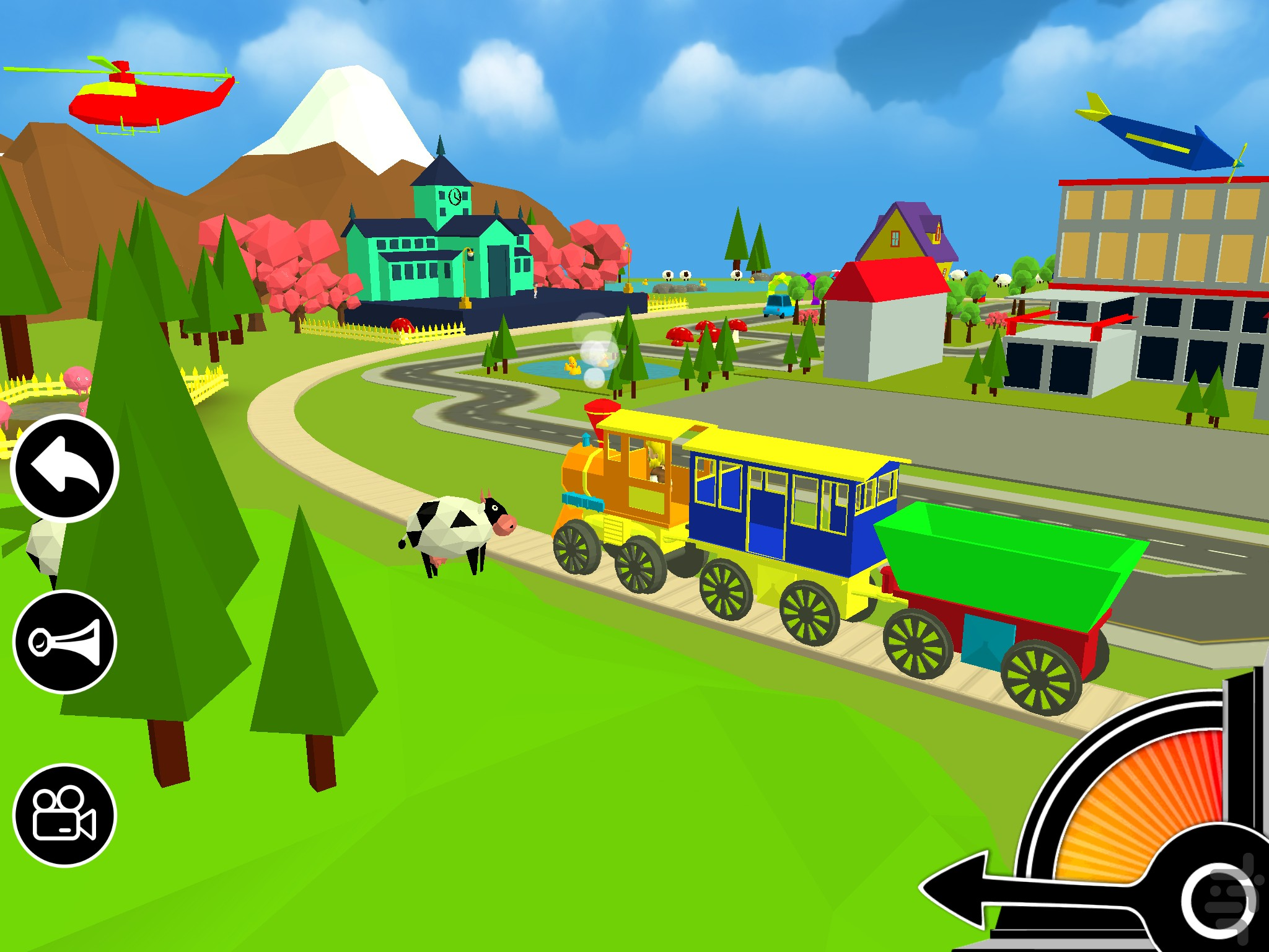 3D Toy Train Game for Android - Download | Cafe Bazaar