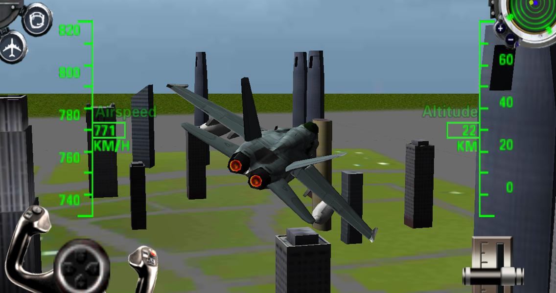 3d airplane simulator games download