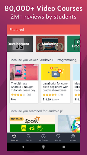 Udemy - Online Courses for Android - Download | Cafe Bazaar