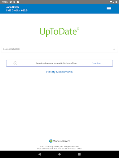 UpToDate for Android