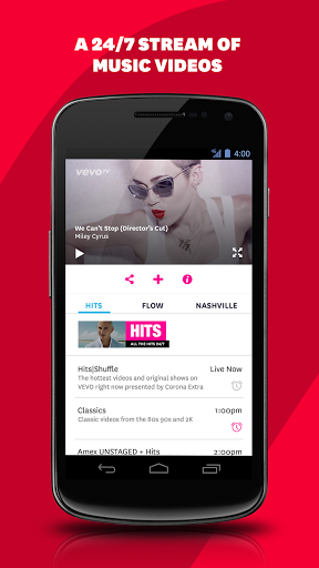 Vevo - Download | Install Android Apps | Cafe Bazaar