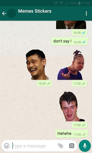 😂Meme Stickers for WAStickerApps - عکس برنامه موبایلی اندروید