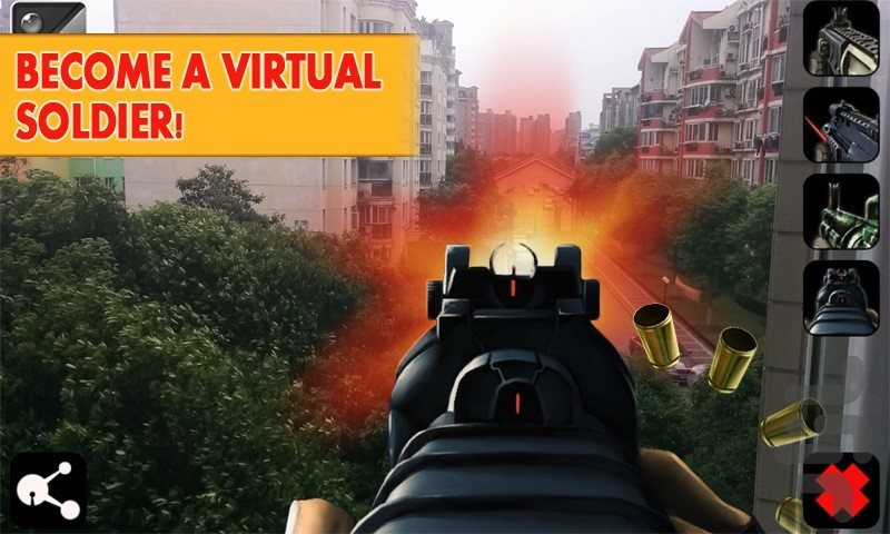 Weapon Cam Simulator Game for Android - Download | Cafe Bazaar