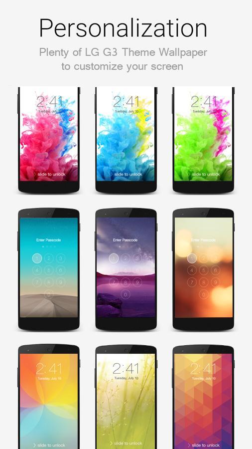Темы для LG G3 S d724 скачать бесплатно на андроид телефон