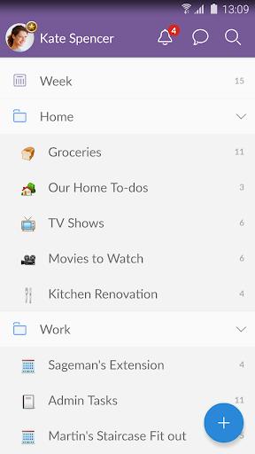 Wunderlist: To-Do List & Tasks for Android - Download | Cafe
