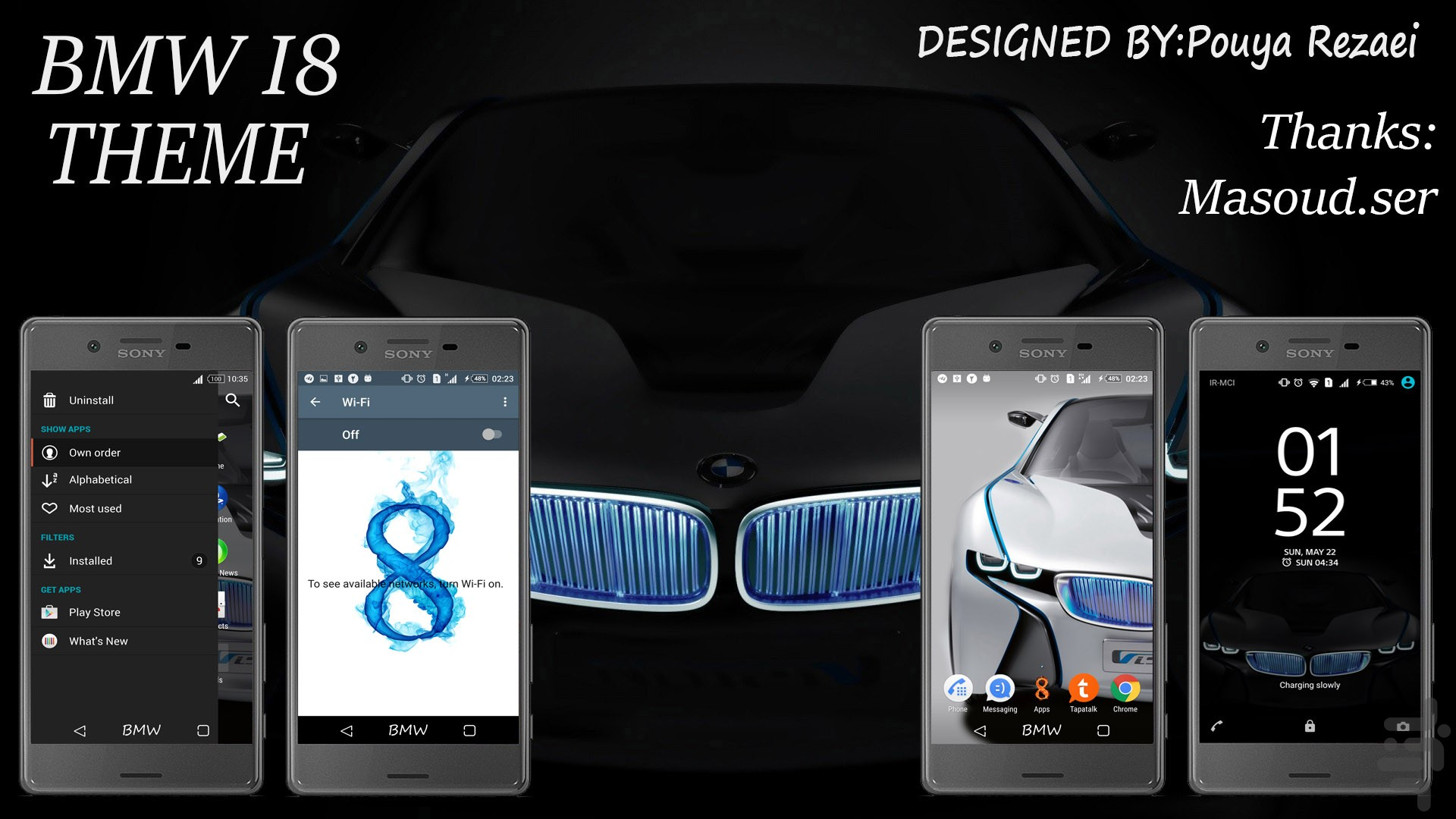 Download BMW I8 Personalization App for Android | Cafe Bazaar