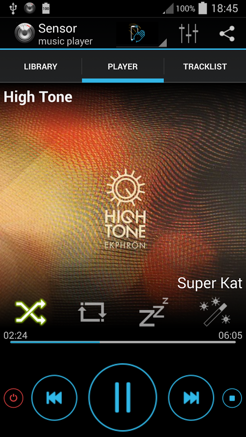 Sensor music player for Android - Download | Cafe Bazaar