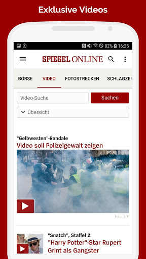 Spiegel Online News Download Install Android Apps Cafe Bazaar