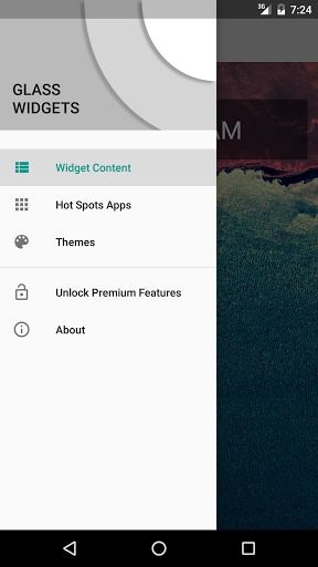 Glass Widgets for Android - Download | Cafe Bazaar
