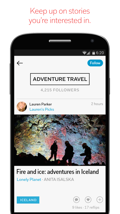 how to get page views from flipboard