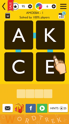 word trek word brain streak hand made puzzles download